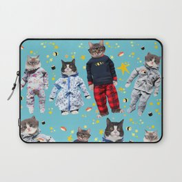 Cat Naps & Sushi Dreams by Crow Creek Coolture Laptop Sleeve