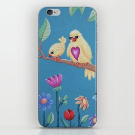 Be brave my love iPhone Skin