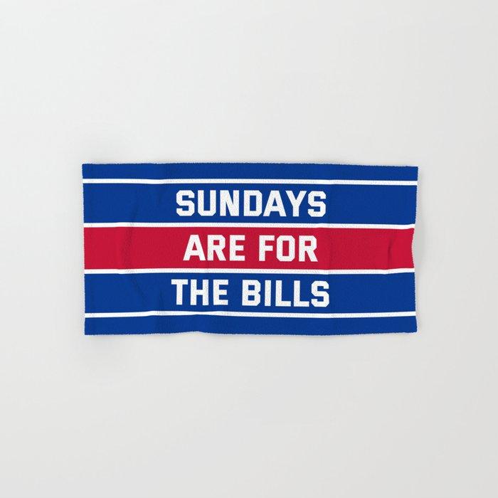 Sundays Are for the bills Hand & Bath Towel