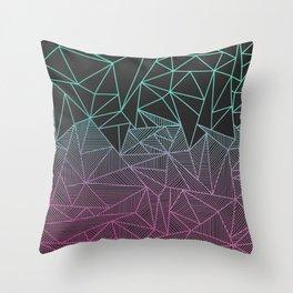 Beau Rays Throw Pillow