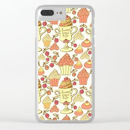 Sweet desserts. Clear iPhone Case