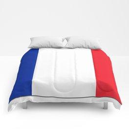 France Flag Shadow Comforters