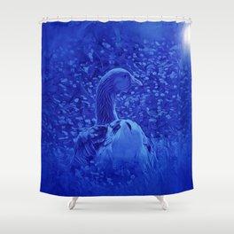 Oie dans les jardins de carrouges by GEN Z Shower Curtain