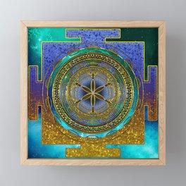 Yantra Mantra Mandala #1 Framed Mini Art Print