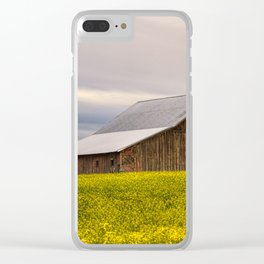 Withdrawn Clear iPhone Case