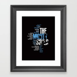 The Mighty Souls: Jazz Legends Framed Art Print