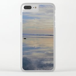 Beach with No Beginning  -   No End Clear iPhone Case