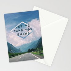 LET ME TAKE YOU THERE Stationery Cards