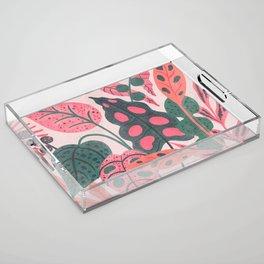 PLANTS Acrylic Tray