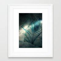 the mortal instruments Framed Art Prints featuring Vigilant Mortal by KunstFabrik_StaticMovement Manu Jobst