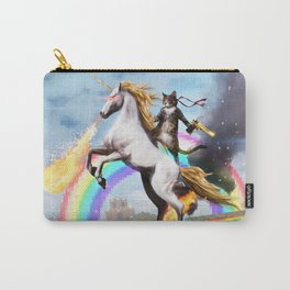 Unicorn and Cat Carry-All Pouch