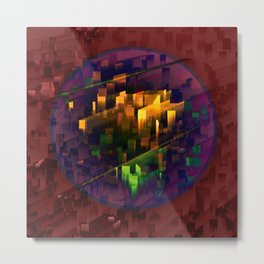 TRAPPIST - Connection II Metal Print