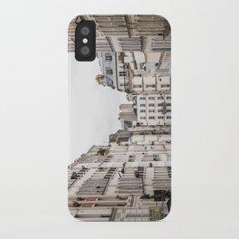Montmartre View of Paris  iPhone Case