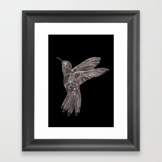 Love bird Framed Art Print