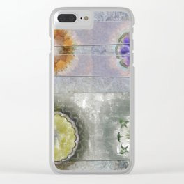 Antonymies Fineness Flower  ID:16165-071103-38151 Clear iPhone Case