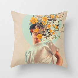 Because You were around Throw Pillow