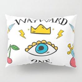 Wayward One - Old School Tattoo Flash Art Pillow Sham