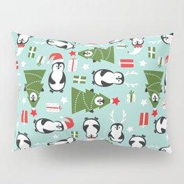 Penguin Party Pattern Pillow Sham