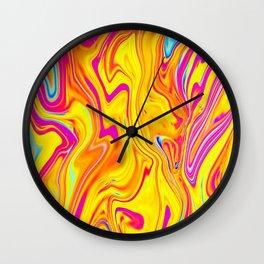 Fun Blood Wall Clock
