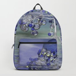 full moon in a world of glass Backpack