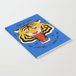 Go Get 'Em Tiger Notebook