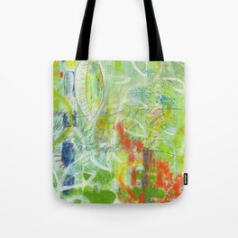 abstract 4 growth and prayer Tote Bag