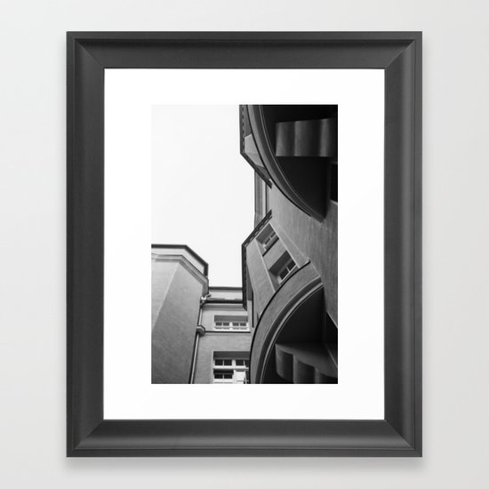 House. Framed Art Print