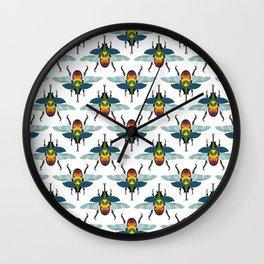 Beetle Dee & Beetle Dum Wall Clock