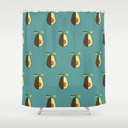 Fruit: Avocado Shower Curtain