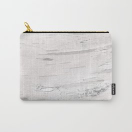 White Birch Wood Carry-All Pouch