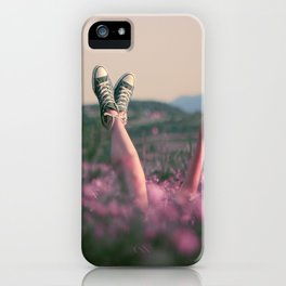 Wonderful day iPhone Case