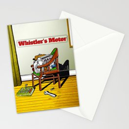 Whistler's Motor Stationery Cards