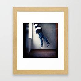 Absorbed Framed Art Print