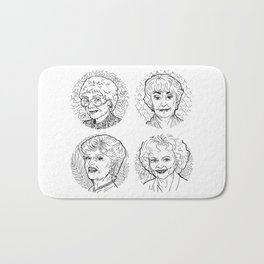 The Golden Girls Bath Mat