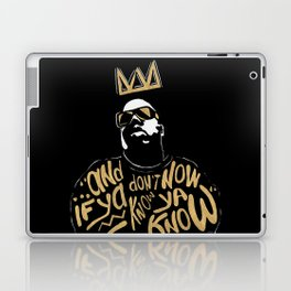 Brooklyn's King Laptop & iPad Skin