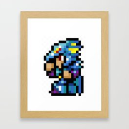 Final Fantasy II - Kain Framed Art Print