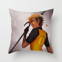 CRAZY=GENIUS Throw Pillow