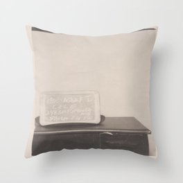 George's House Throw Pillow