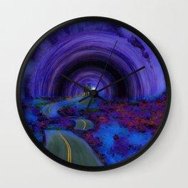 Into The Future Wall Clock