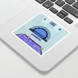 Scallop pool Sticker