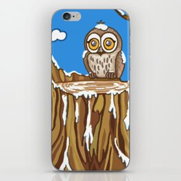 Snowflake the Owl iPhone Skin
