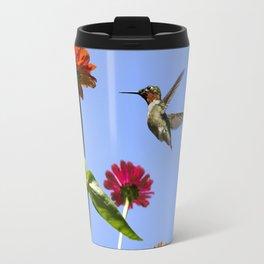Hummingbird Happiness Travel Mug