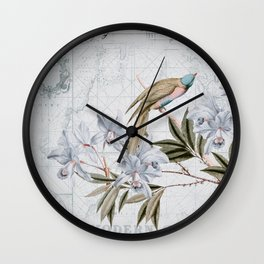Voyage Of Discovery Wall Clock