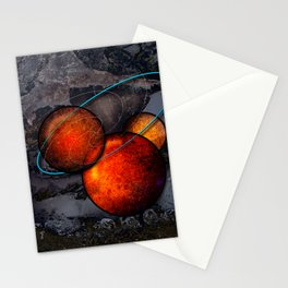 Hot Metal Stationery Cards