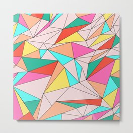 Unity Triangle Metal Print