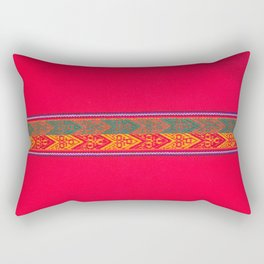 Beautiful Tapestry from Peru Rectangular Pillow