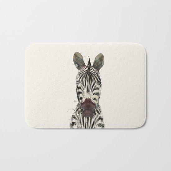 little zebra Bath Mat