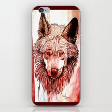 Alpha: Red iPhone & iPod Skin