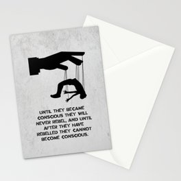 George Orwell - 1984 - Rebellion Stationery Cards