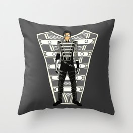 HIStory Promo Military March Jackson 2 Throw Pillow